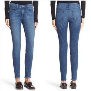 Frame Denim Le Skinny De Jeanne Skinny Jeans, 24
